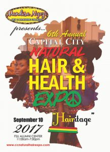 The 6th ANNUAL CAPITAL CITY NATURAL HAIR & HEALTH EXPO @ FSU Alumni Center | Tallahassee | Florida | United States